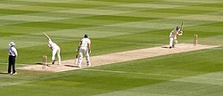 File photo of a test match in 2005. Image: Prescott.