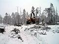 Ponsse forwarder working in Lapland.jpg