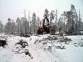 Ponsse forwarder working in Lapland.jpg