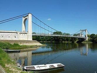 Chalonnes-sur-Loire - The Chalonnes-sur-Loire bridge