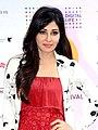 Pooja Chopra promoting short film 'Ouch' at MAMI 18th Mumbai Film Festival (cropped).jpg