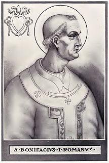 Pope Boniface I 5th-century pope