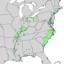 Populus heterophylla range map 2.png
