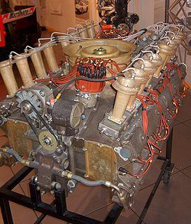 Flat-sixteen engine