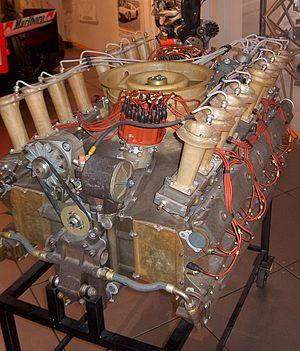 Flat-sixteen engine - Porsche 917 experimental Can-Am engine