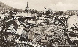 1892 Mauritius cyclone