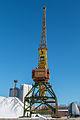 Port crane in Moscow North River Port 10-feb-2015 01.jpg