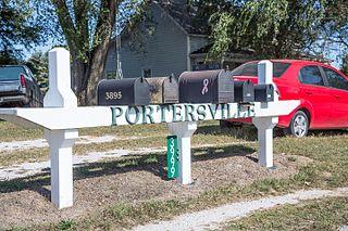 Portersville, Indiana Unincorporated community in Indiana, United States