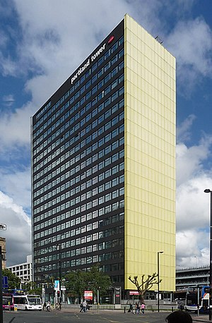 Manchester One - Image: Portland Tower, Portland St, Manchester