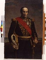 Portrait de l'amiral Charner