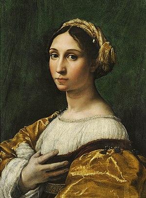 """Musée des Beaux-Arts de Strasbourg - """"Portrait of a young lady"""", by Raphael"""