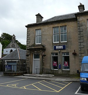 English: Royal Bank of Scotland Portre, Isle o...