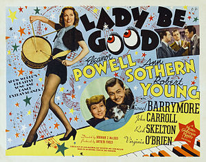 Lady Be Good (1941 film) - Film poster