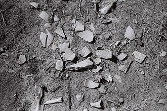 Atil - Image: Potsherds (wide) Atil 2014