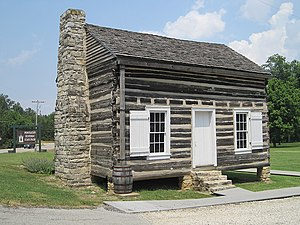 National Register of Historic Places listings in Lawrence County, Arkansas - Image: Powhatan Historic State Park Powhatan AR 011