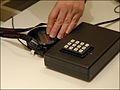 Préparation de laudioguide utilisé à lHistorial Charles de Gaulle (Paris) (4152459042).jpg