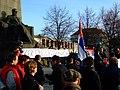 Praha, Palackého náměstí, Demonstrace proti nezávislosti Kosova IV.JPG
