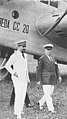 Presentazione dell'aereo Breda CC 20 a Italo Balbo e Benito Mussolini, 1929 ca - san dl SAN IMG-00002291.jpg