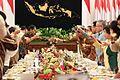President Rodrigo Duterte accepts a toast from Indonesian President Joko Widodo during a state banquet at Istana Negara in Jakarta on September 9.jpg
