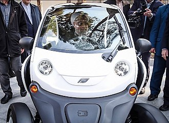 Electronic speed control - Electric car