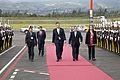 Presidente de Georgia arribó a Quito (9509764261).jpg