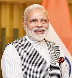 Narendra Modi 14th and current Prime Minister of India
