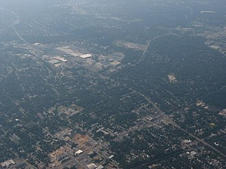 Hyattsville, Maryland - Aerial view of Hyattsville