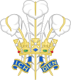 Prince of Wales's feathers Badge.svg