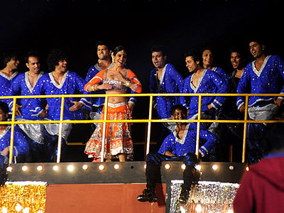 Priyanka Chopra performing at the 18th Annual Colors Screen Awards (2012)