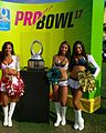 Pro Bowl Cheerleaders and the Pro Bowl Trophy (32557824925).jpg