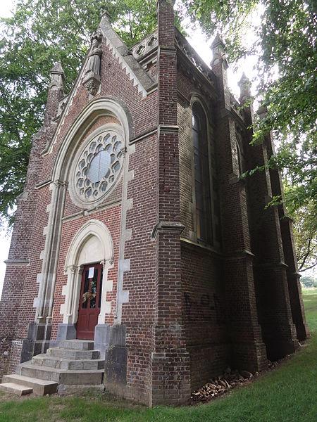 Proix (Aisne) chapelle N.D. de la Salette