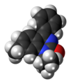 Proquazone molecule spacefill.png