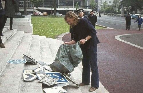 Protest Cymdeithas yr Iaith, 1972