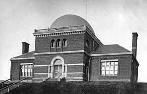 History of Rensselaer Polytechnic Institute - The Proudfit Observatory circa 1878