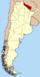 Lage der Provinz Formosa