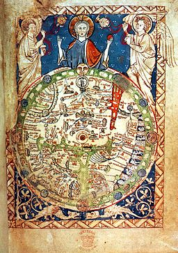 Psalter world map