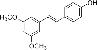 Pterostilbene chemical compound