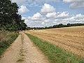 Public bridleway to Poringland - geograph.org.uk - 1451460.jpg