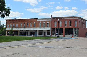 Barry, Illinois - Downtown buildings