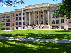 Central High School (Pueblo, Colorado) - Image: Pueblo Central High School