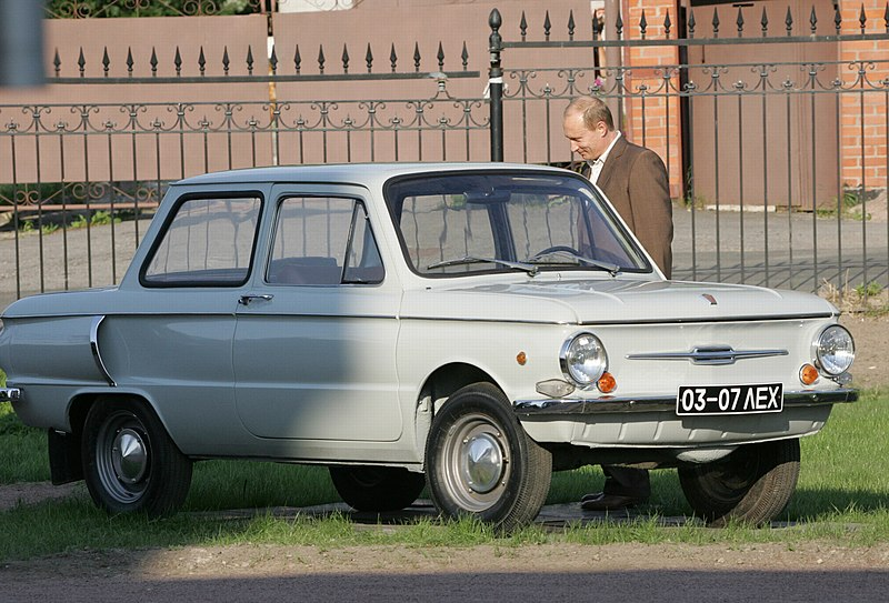 File:Putin with his 1972 Zaporozhets.jpg