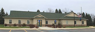 Putnam Township, Michigan - Putnam Township Hall, West M-36