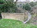 Pymee's Brook, Baring Road, New Barnet looking north.JPG