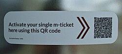 QR code tram ticket activator (geograph 4018212).jpg