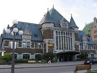 Gare du Palais - The Gare du Palais, in Old Quebec