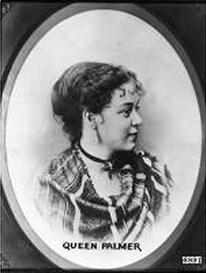 William Jackson Palmer - Mary Lincoln (Queen) Mellen Palmer, wife of William Jackson Palmer
