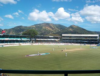 West Indies cricket team - Queen's Park Oval, Trinidad