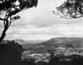 Queensland State Archives 2169 Upper Tweed Valley and border cliffs Lamington National Park c 1945.png