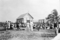 Queensland State Archives 5780 Hon J C Peterson Home Secretary and party with residents of St Pauls Moa Torres Strait Island June 1931.png