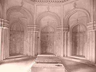 Jamsheed Quli Qutb Shah - The grave of the 2nd Sultan, Jamshed Quli Qutub Shah